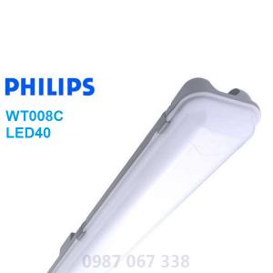 Máng đèn chống thấm WT008C